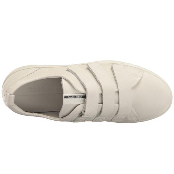 エコー ECCO レディース スニーカー シューズ・靴 Soft 8 Strap Sneaker White Cow Leather