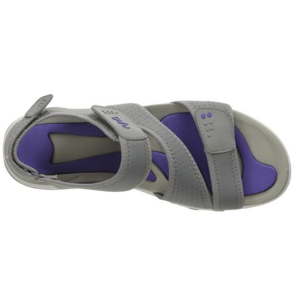 ライカ レディース サンダル・ミュール シューズ・靴 Dominica Frost Grey/Ultra Violet|fermart-shoes|03
