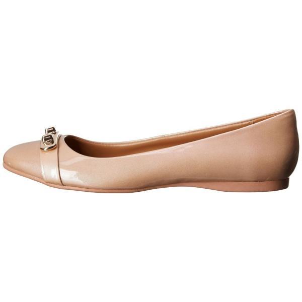 コーチ レディース スリッポン・フラット シューズ・靴 Oswald Platinum Iridescent Pearl Patent