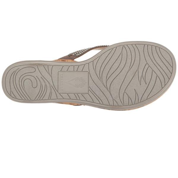 ボラティル VOLATILE レディース ビーチサンダル シューズ・靴 Tira Light Grey