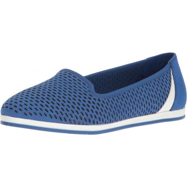 エアロソールズ Aerosoles レディース スリッポン・フラット シューズ・靴 Smart Move Blue Nubuck