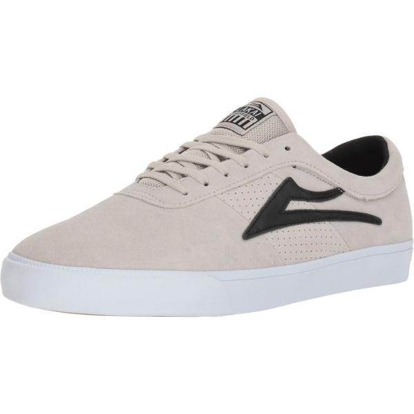 ラカイ Lakai メンズ スニーカー シューズ・靴 Sheffield White/Black Suede|fermart-shoes|02