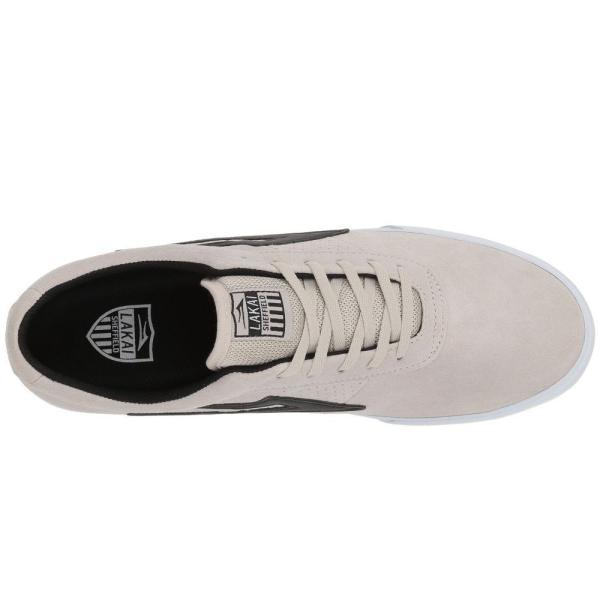 ラカイ Lakai メンズ スニーカー シューズ・靴 Sheffield White/Black Suede|fermart-shoes|03
