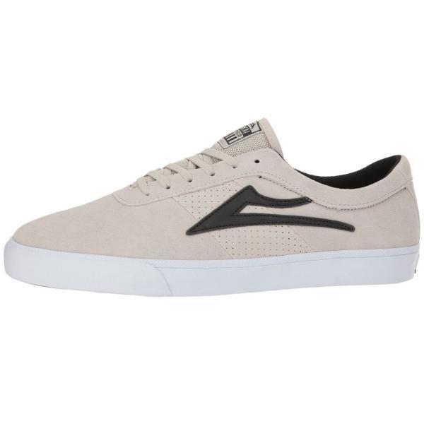 ラカイ Lakai メンズ スニーカー シューズ・靴 Sheffield White/Black Suede|fermart-shoes|05