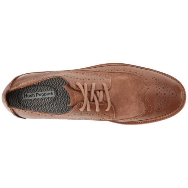ハッシュパピー Hush Puppies メンズ 革靴・ビジネスシューズ シューズ・靴 Samme Bernard Light Brown Leather/Suede|fermart-shoes|03