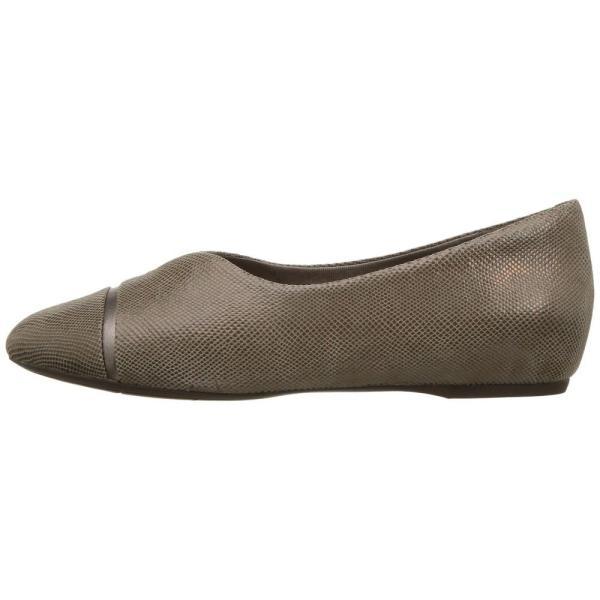 ロックポート レディース スリッポン・フラット シューズ・靴 Total Motion 20mm V-Cap Ballet Taupe