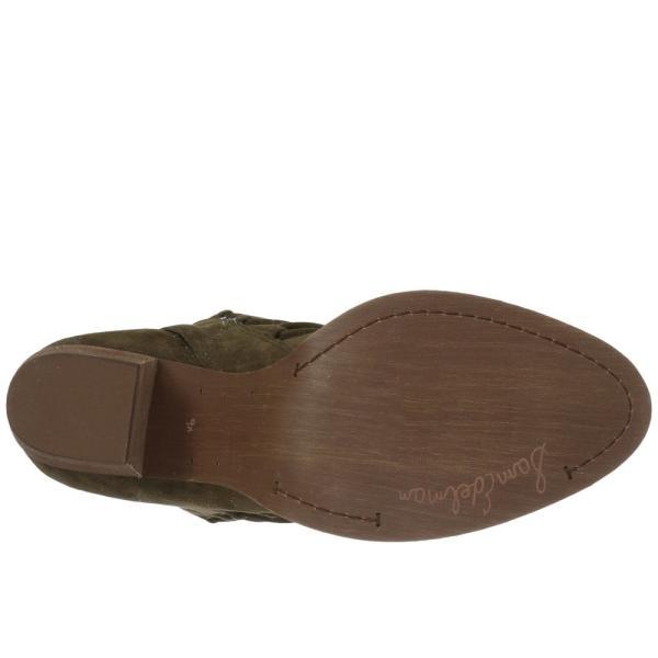 サム エデルマン レディース ブーツ シューズ・靴 Millard Deep Moss Kid Suede Leather