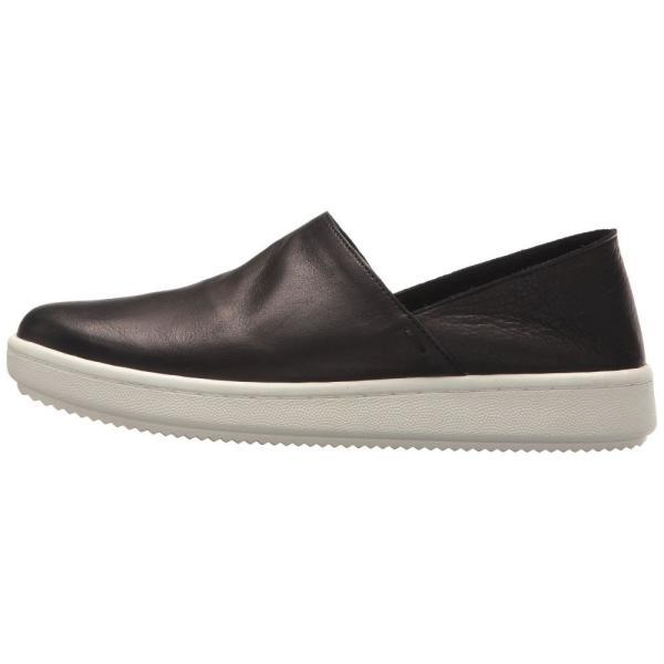アイリーンフィッシャー Eileen Fisher レディース スニーカー シューズ・靴 Panda 2 Black Tumbled Leather