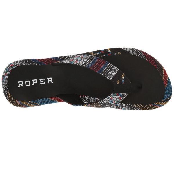 ローパー Roper レディース ビーチサンダル シューズ・靴 Ella Black