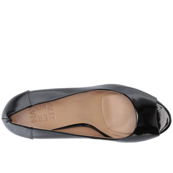 ナチュラライザー Naturalizer レディース パンプス シューズ・靴 Amie Black Patent Leather