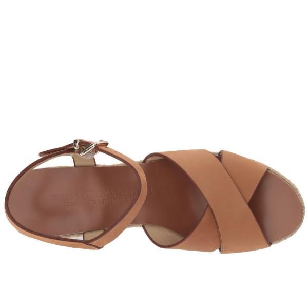 クリスティン カヴァラーリ Kristin Cavallari レディース エスパドリーユ シューズ・靴 Mikah Espadrille Wedge Camel Leather