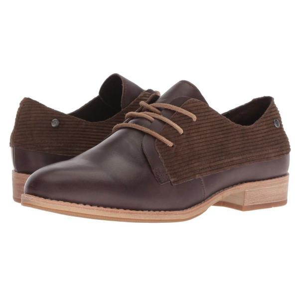 キャピタラー カジュアル Caterpillar Casual レディース ローファー・オックスフォード シューズ・靴 Tally Dark Brown Leather/WPL
