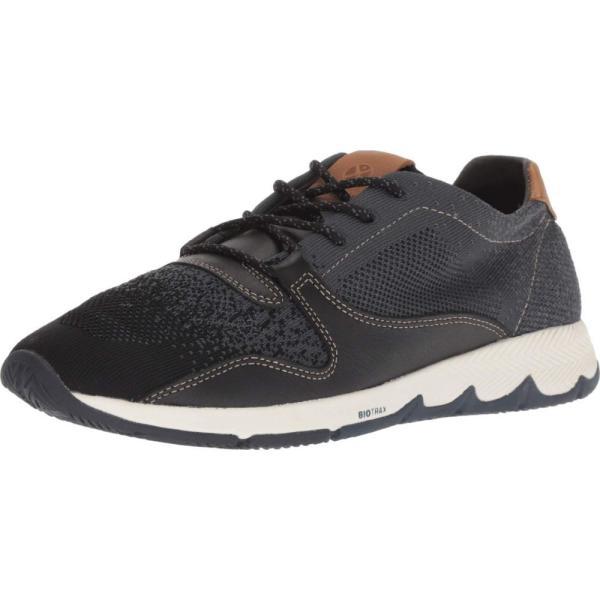 ハッシュパピー Hush Puppies メンズ スニーカー シューズ・靴 TS Field Knit Lace Black Knit/Leather|fermart-shoes|02