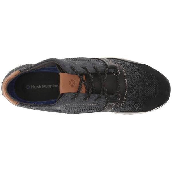 ハッシュパピー Hush Puppies メンズ スニーカー シューズ・靴 TS Field Knit Lace Black Knit/Leather|fermart-shoes|03