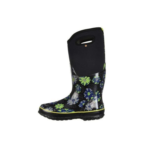 ボグス Bogs レディース レインシューズ・長靴 シューズ・靴 Classic Tall Winter Floral Black Multi