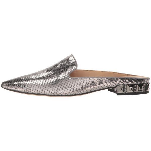 フランコサルト Franco Sarto レディース ローファー・オックスフォード シューズ・靴 Samanta 6 Pewter Diamond Snake Print Leather