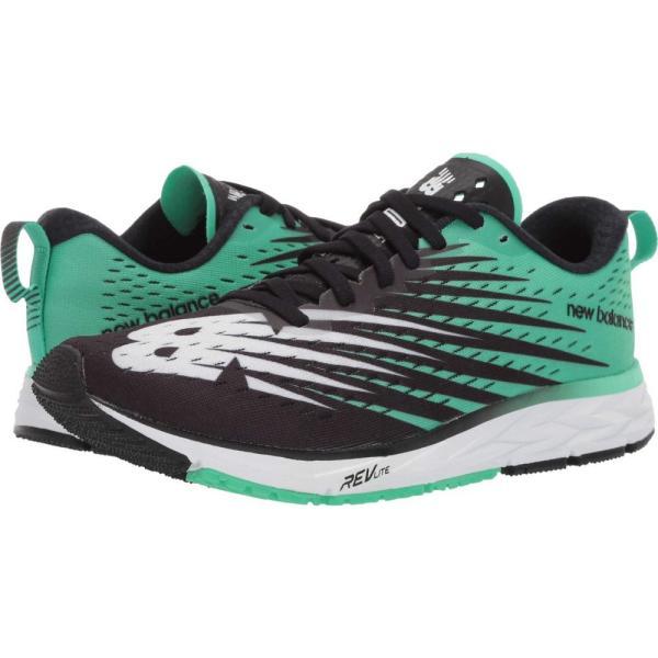 ニューバランス New Balance メンズ ランニング・ウォーキング シューズ・靴 1500v5 Black/Neon Emerald