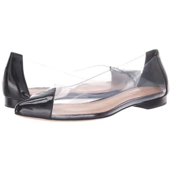 シュッツ Schutz レディース スリッポン・フラット シューズ・靴 Clearly Black Patent
