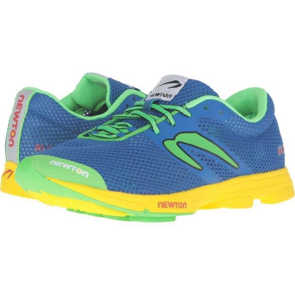 ニュートンランニング Newton Running レディース ランニング・ウォーキング シューズ・靴 Distance Elite Blue/Green