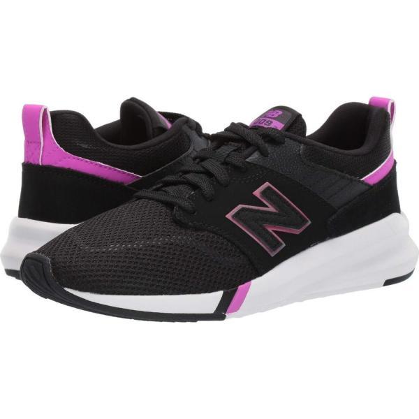 ニューバランス New Balance レディース ランニング・ウォーキング シューズ・靴 009 Modern Classic Black/Voltage Violet