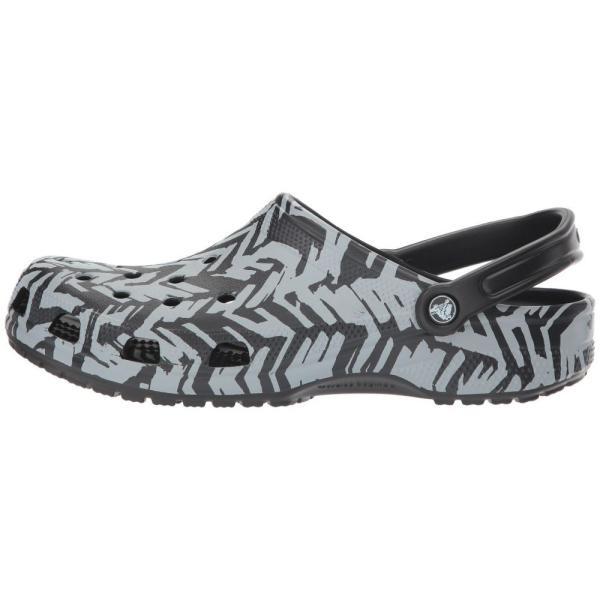 クロックス Crocs レディース クロッグ シューズ・靴 Classic Graphic II Clog Light Grey/Black