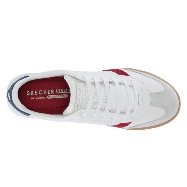 スケッチャーズ SKECHERS Street レディース スニーカー シューズ・靴 Zinger White/Red/Navy