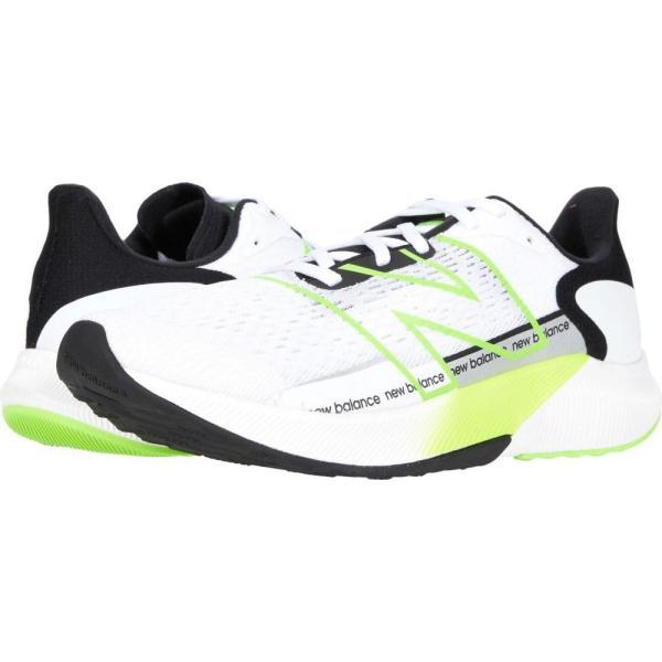ニューバランス New Balance メンズ ランニング・ウォーキング シューズ・靴 FuelCell Propel v2 White/Energy Lime