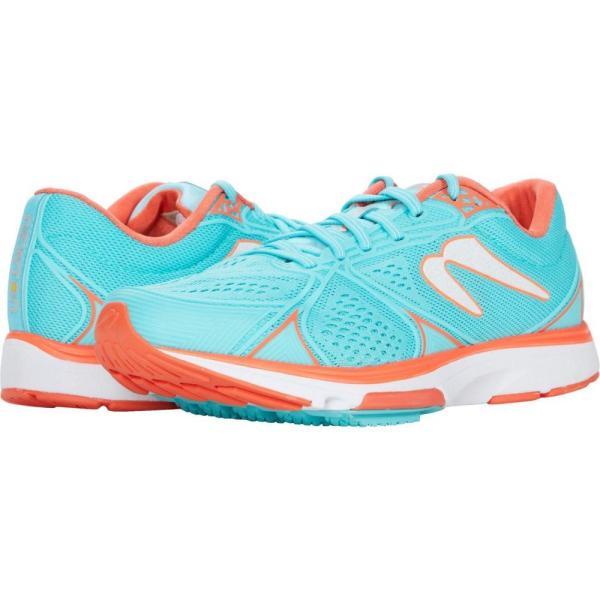 ニュートンランニング Newton Running レディース ランニング・ウォーキング シューズ・靴 Kismet 6 Cyan/Orange
