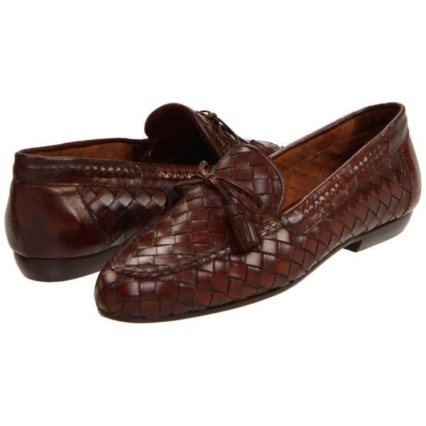 セスト メウッチ レディース ローファー・オックスフォード シューズ・靴 Neda Dk Tan Stained Calf
