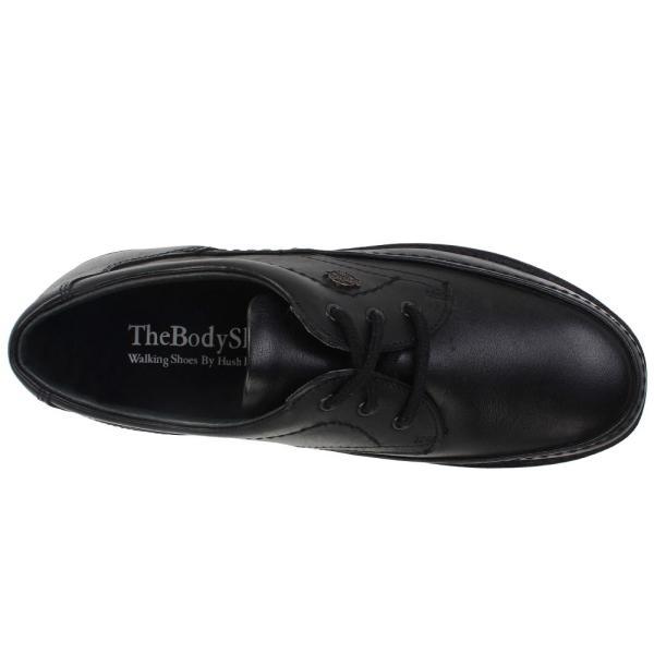 ハッシュパピー メンズ 革靴・ビジネスシューズ シューズ・靴 Mall Walker Black Leather|fermart-shoes|02