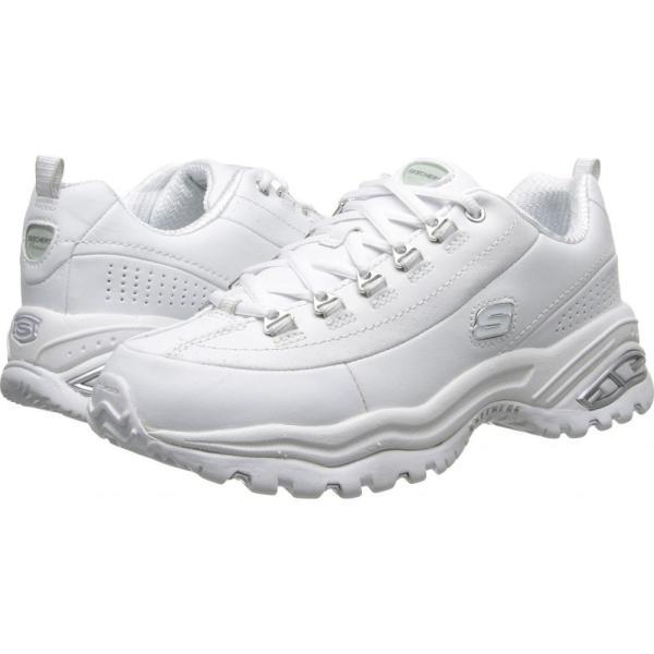 スケッチャーズ レディース スニーカー シューズ・靴 Premiums White|fermart-shoes