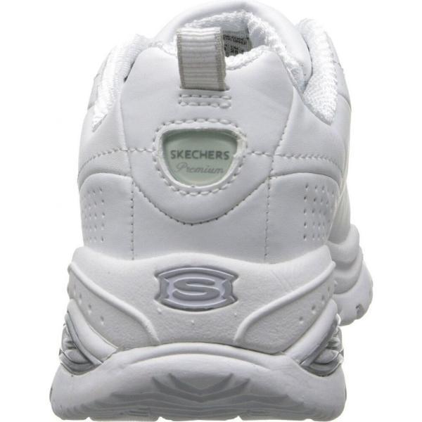 スケッチャーズ レディース スニーカー シューズ・靴 Premiums White|fermart-shoes|05