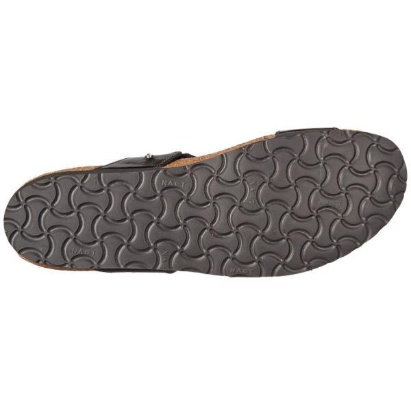 ナオトフットウェアー レディース サンダル・ミュール シューズ・靴 Ashley Black Patent Leather