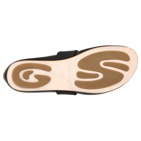 ジェントルソウル レディース スリッポン・フラット シューズ・靴 Gabby Black