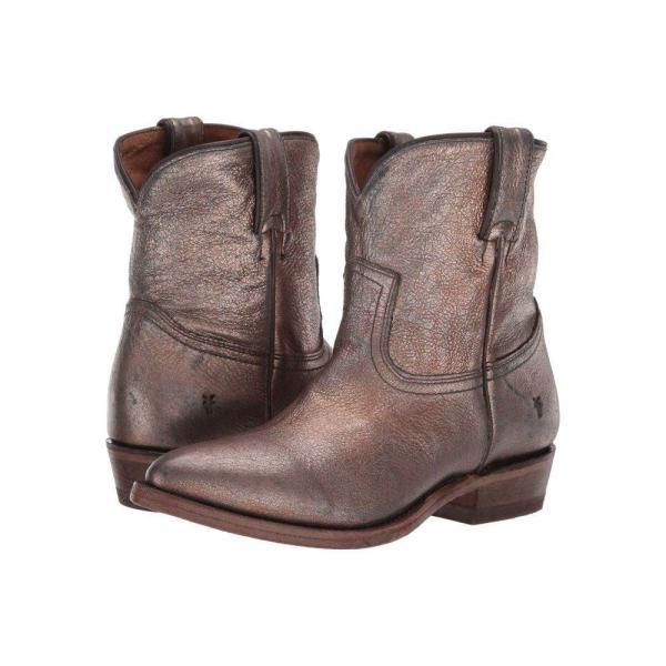フライ Frye レディース ブーツ シューズ・靴 Billy Short Golden Silver Vintage Metallic