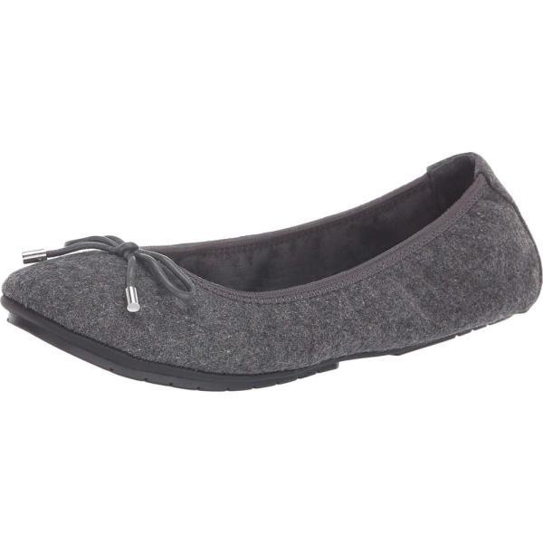 ミートゥー Me Too レディース スリッポン・フラット シューズ・靴 Halle Grey Flannel