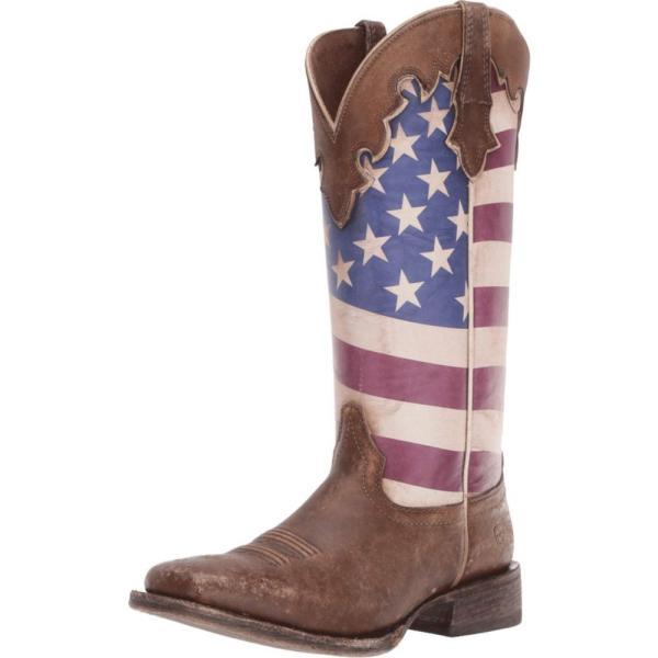 アリアト Ariat レディース ブーツ シューズ・靴 Ranchero Stars and Stripes