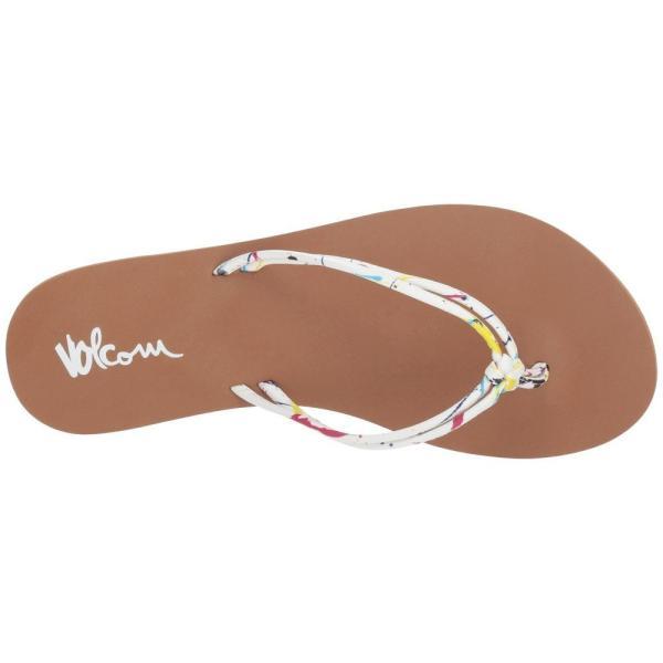 ボルコム Volcom レディース ビーチサンダル シューズ・靴 Forever and Ever Paint White