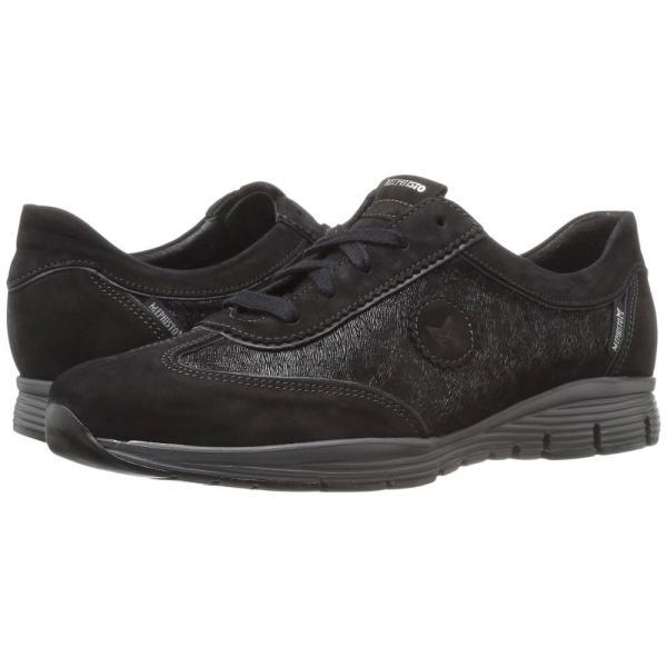 メフィスト レディース スニーカー シューズ・靴 Yael Black Bucksoft/Print/Pearl Calfskin