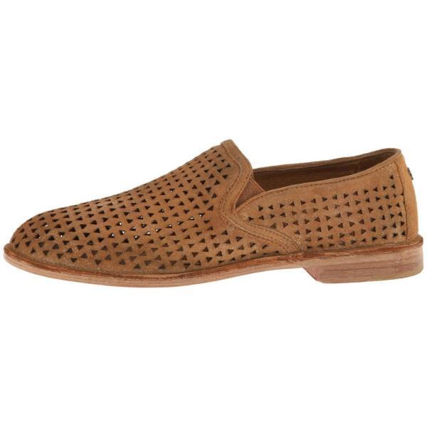 トラスク レディース ローファー・オックスフォード シューズ・靴 Ali Perf Gold Italian Metallic Suede