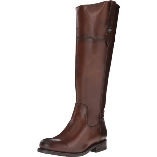 フライ レディース ブーツ シューズ・靴 Jayden Button Tall Redwood Smooth Vintage Leather