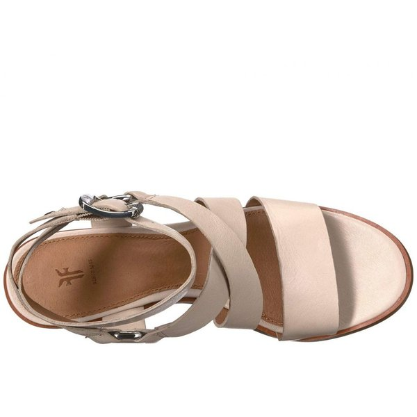 フライ Frye レディース サンダル・ミュール シューズ・靴 Sara Harness Sandal Off-White