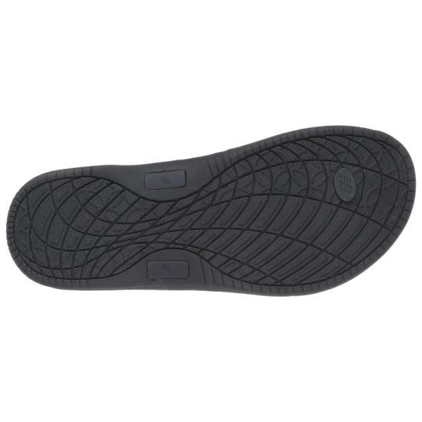 ニューバランス レディース ビーチサンダル シューズ・靴 Cush+ Heathered Thong Black