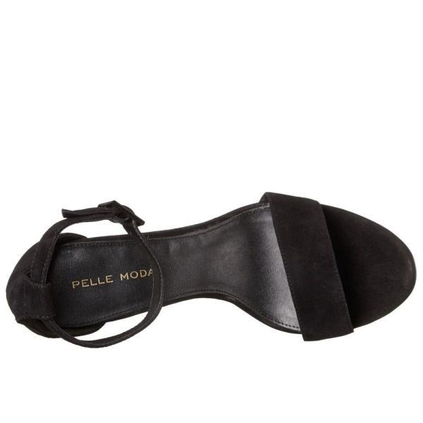 ペレ モーダ Pelle Moda レディース ヒール シューズ・靴 Bonnie Black Kid Suede