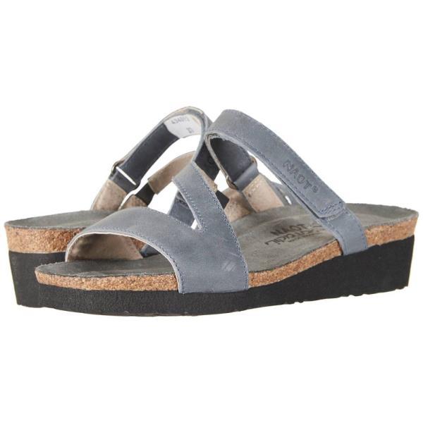 ナオト レディース サンダル・ミュール シューズ・靴 Gabriela Vintage Slate Leather