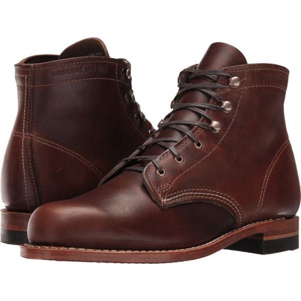 ウルヴァリン レディース ブーツ シューズ・靴 Original 1000 Mile Boot Brown