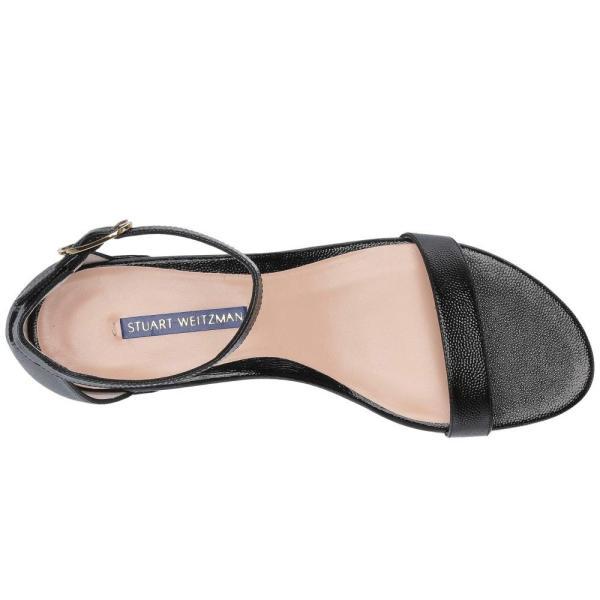 スチュアート ワイツマン Stuart Weitzman レディース サンダル・ミュール シューズ・靴 Nudistjune Black Caviar Patent