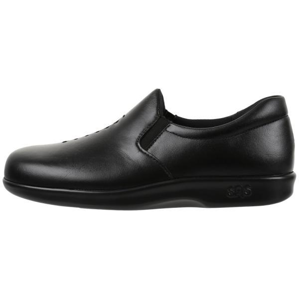 サス レディース ローファー・オックスフォード シューズ・靴 Viva Black
