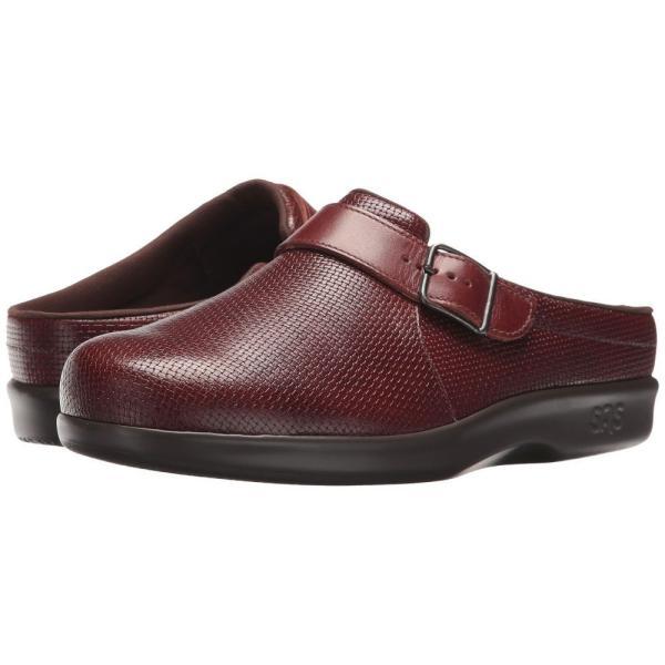 サス レディース クロッグ シューズ・靴 Clog Woven Brown