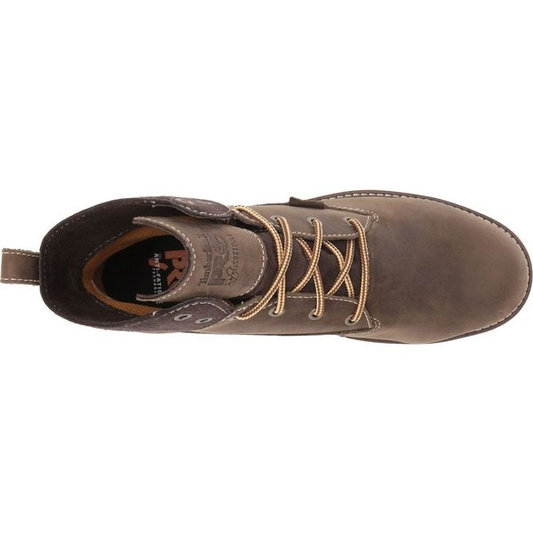 ティンバーランド Timberland PRO レディース ブーツ シューズ・靴 Hightower 6' Alloy Safety Toe Waterproof Turkish Coffee Full Grain Leather